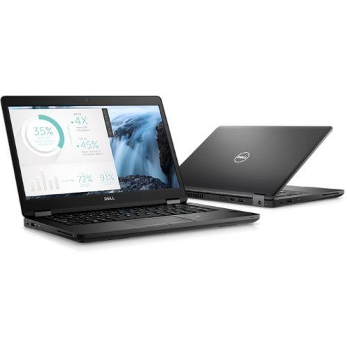 """Dell Latitude 5000 14"""" Laptop Black(Intel Core i5 / 256 GB SSD / 8 GB / Windows 10)"""