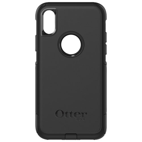 5ced53318ca OtterBox Commuter Fitted Hard Shell Case for iPhone X - Black