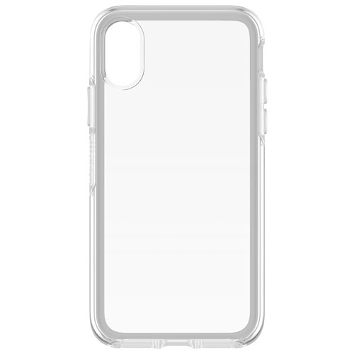 brand new 71095 ca41a Otterbox Symmetry Fitted Hard Shell Case for iPhone X - Clear