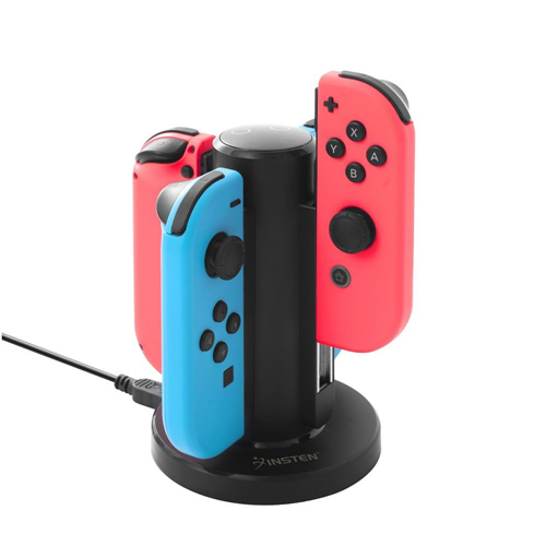 Insten Multiple Simultaneous Joy-Con Controller Charging Dock Compatible with Nintendo Switch