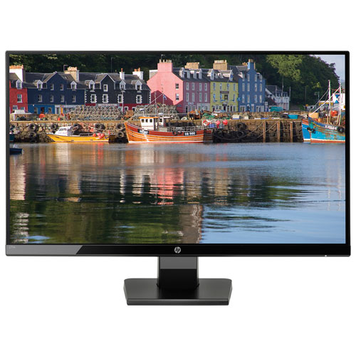 "HP 27"" 1080p HD 60Hz 5ms GTG IPS LED Monitor (27W) - Black"