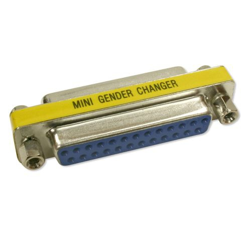 DB25 F/F Mini Gender Changer