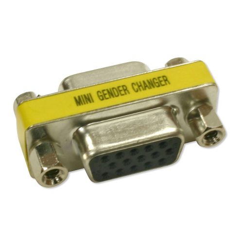 DB15HD F/F Mini Gender Changer