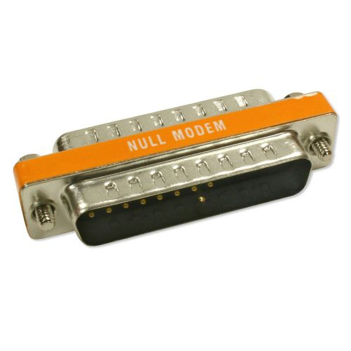 Mini Null Modem M/M DB25 Adapter