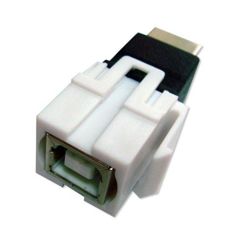 USB B F Keystone Insert