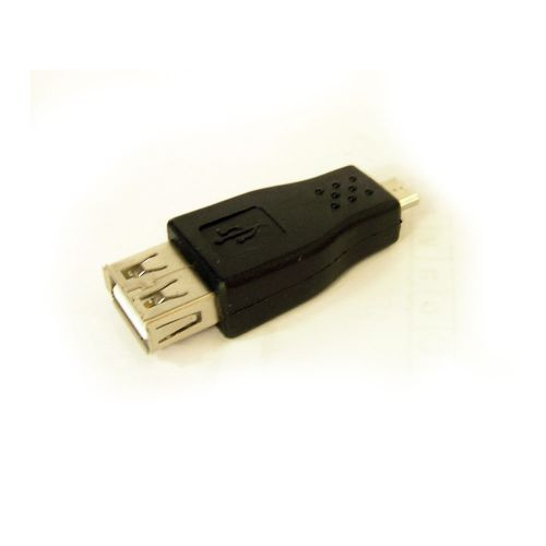 USB 2.0 A to USB Micro B F/M Adapter