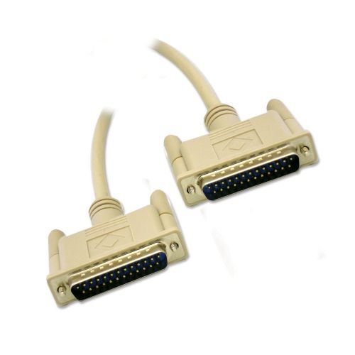 DB25 Moulded Serial Cable M/M - 6ft