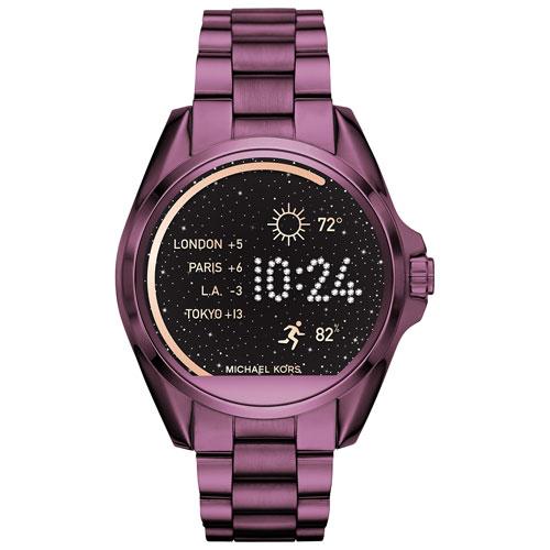Michael Kors Bradshaw 44.5mm Smartwatch - IP Plum