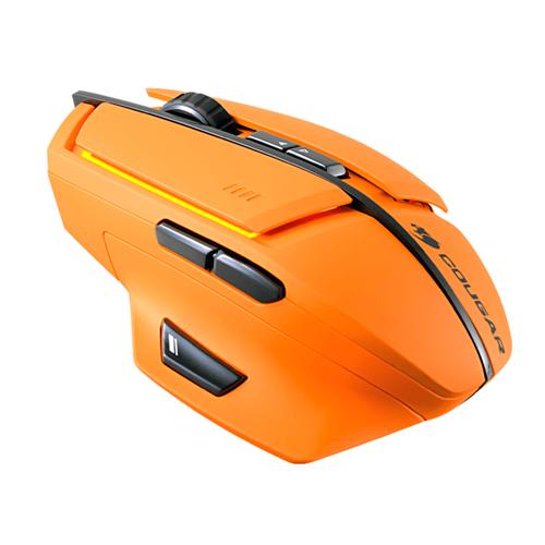 600M Laser Gaming Mouse - Orange