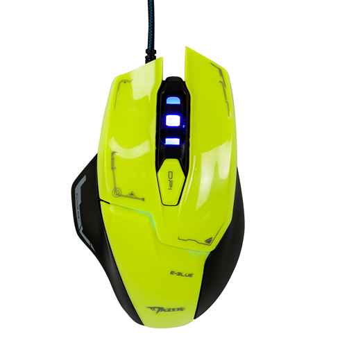 Mazer M642 Advance Gaming Mouse - Green