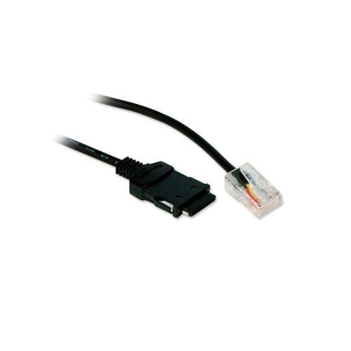 PCMCIA RJ45 Xircom B Cable - BK, 6ft