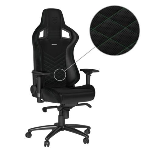 chaise de Jeu Noblechair NBL-PU-GRN-002 Epic - Noir/Vert