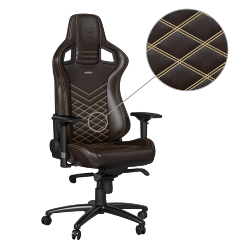 Noblechairs EPIC Series Real Leather Brown/Beige : Gaming Chairs   Best Buy  Canada