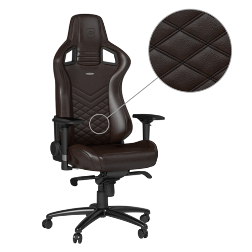 noblechairs EPIC Series Real Leather Brown/Black