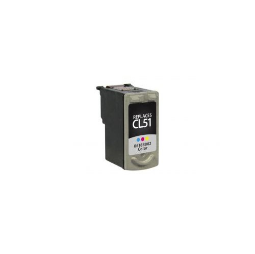 Remanufactured High Yield Color Ink Cartridge for Canon CL-51 (DPCCL51CA)