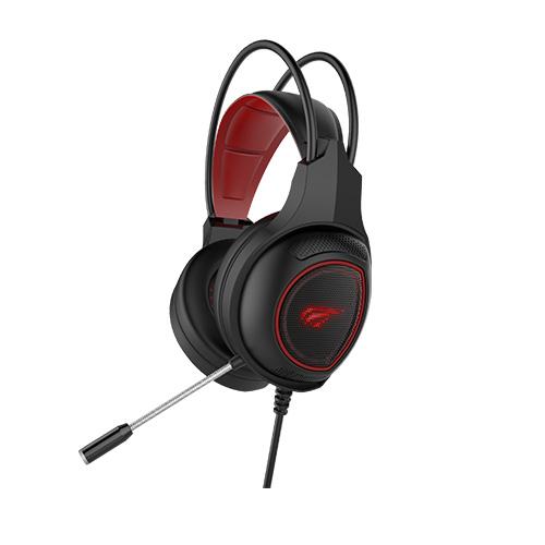Havit Over-Ear Headphone (H2239D) - Red