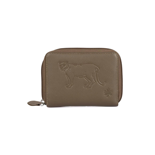 Canada Wild Women's Bifold Wallet Cougar Taupe