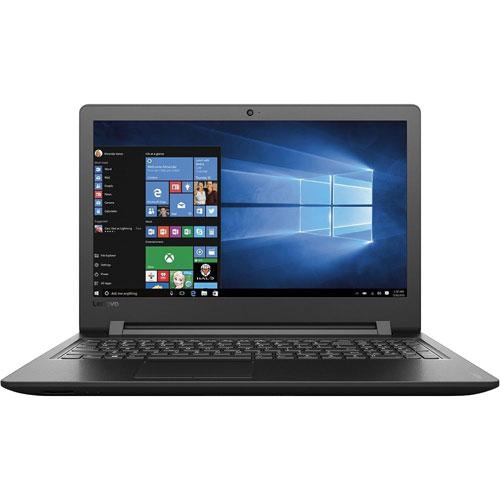 "Lenovo 15.6"" Laptop - Black (Intel Pentium 4405U/500GB HDD/4GB RAM/Windows 10) - English"