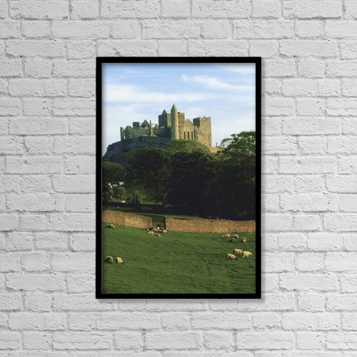 Best Buy Castle Rock >> Printscapes Wall Art 12 X 18 Canvas Print With Black Frame Historic Vintage By The Irish Image Collection