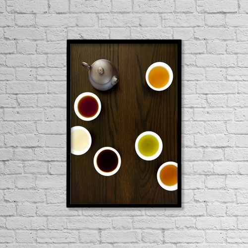 """Printscapes Wall Art: 12"""" x 18"""" Canvas Print With Black Frame - Creative Imagery by Mathieu Dupuis"""