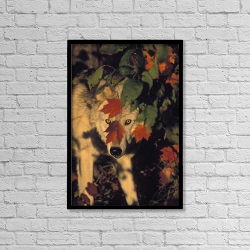 "Printscapes Wall Art: 12"" x 18"" Canvas Print With Black Frame - Tk0639, Thomas Kitchin by Thomas Kitchin & Victoria Hurst"