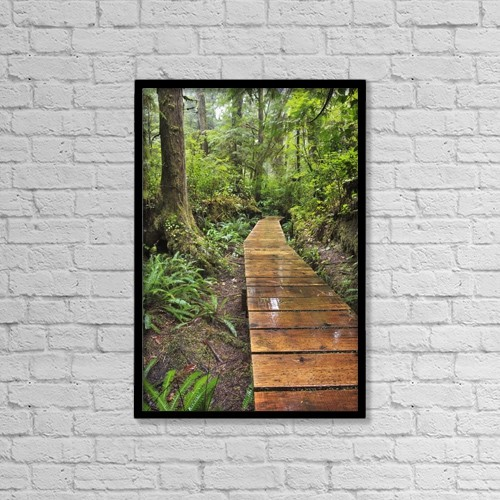 "Printscapes Wall Art: 12"" x 18"" Canvas Print With Black Frame - Nature by Ken Gillespie"