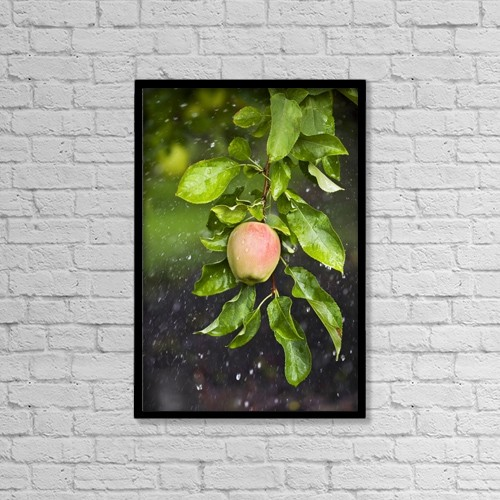 "Printscapes Wall Art: 12"" x 18"" Canvas Print With Black Frame - Agriculture by Ken Gillespie"