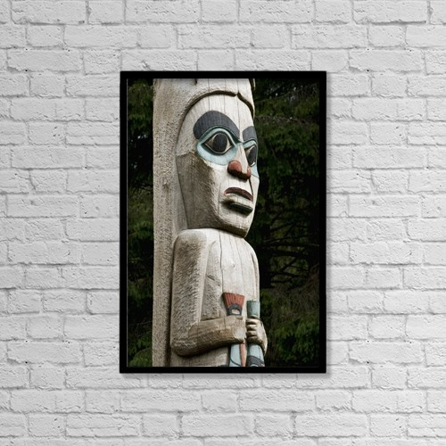 """Printscapes Wall Art: 12"""" x 18"""" Canvas Print With Black Frame - Lifestyle by Richard Maschmeyer"""