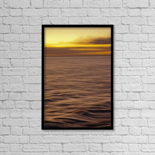 """Printscapes Wall Art: 12"""" x 18"""" Canvas Print With Black Frame - Travel by Dave Fleetham"""