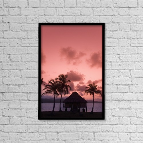 "Printscapes Wall Art: 12"" x 18"" Canvas Print With Black Frame - Scenic by Richard Maschmeyer"