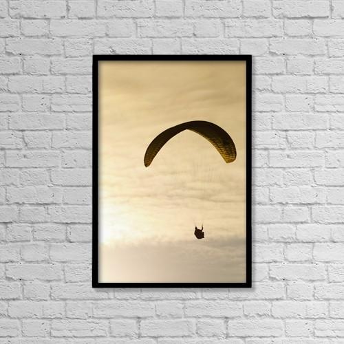 "Printscapes Wall Art: 12"" x 18"" Canvas Print With Black Frame - Scenic by MakenaStockMedia"