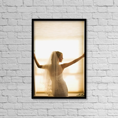"Printscapes Wall Art: 12"" x 18"" Canvas Print With Black Frame - Lifestyle by Micah Wright"