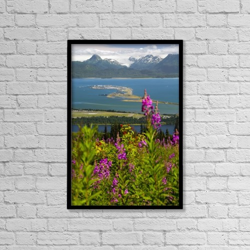 "Printscapes Wall Art: 12"" x 18"" Canvas Print With Black Frame - Scenic by Bill Scott"