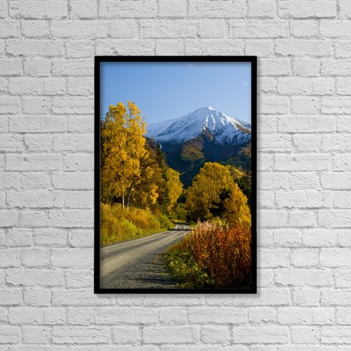 """Printscapes Wall Art: 12"""" x 18"""" Canvas Print With Black Frame - Scenic by Bill Scott"""
