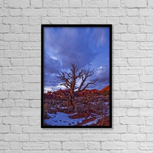 """Printscapes Wall Art: 12"""" x 18"""" Canvas Print With Black Frame - Scenic by Robert Postma"""