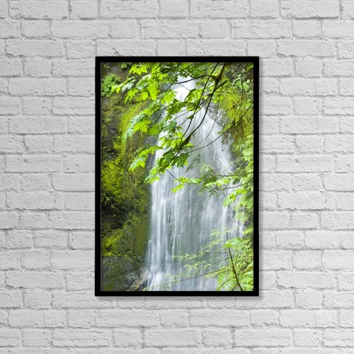 "Printscapes Wall Art: 12"" x 18"" Canvas Print With Black Frame - Scenic by Josh McCulloch Photography"