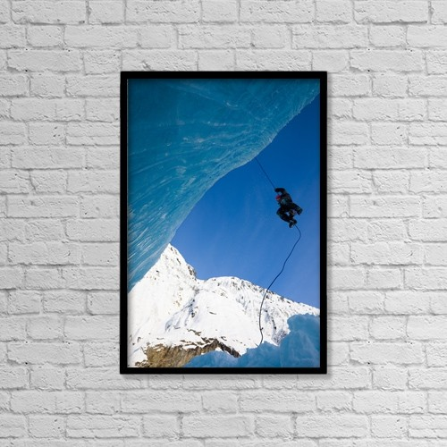 "Printscapes Wall Art: 12"" x 18"" Canvas Print With Black Frame - Sports and Recreation by Quentin Smith"