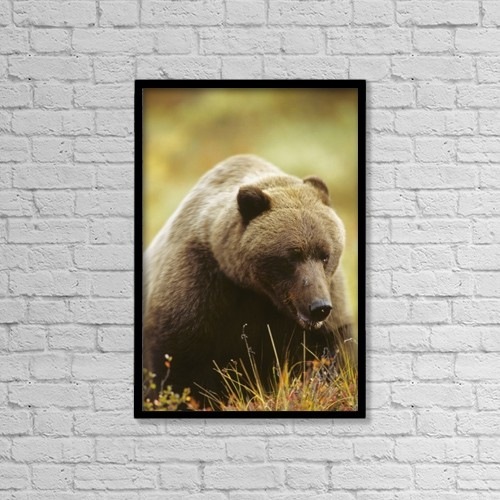 "Printscapes Wall Art: 12"" x 18"" Canvas Print With Black Frame - Food by Harry M. Walker"