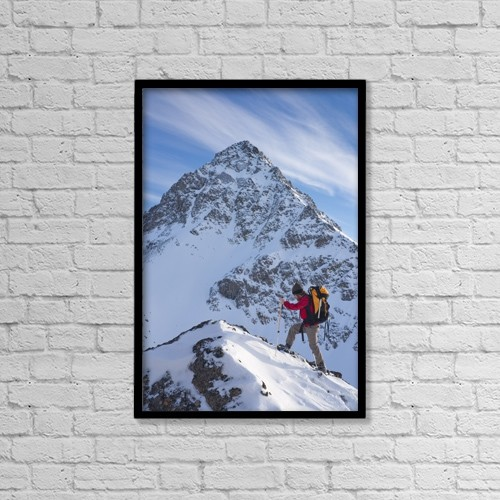 """Printscapes Wall Art: 12"""" x 18"""" Canvas Print With Black Frame - Scenic by Carl R. Battreall"""