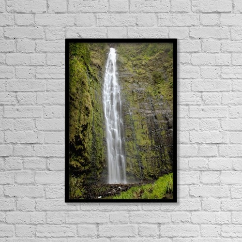 "Printscapes Wall Art: 12"" x 18"" Canvas Print With Black Frame - Travel by Jenna Szerlag"