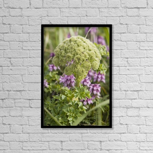 "Printscapes Wall Art: 12"" x 18"" Canvas Print With Black Frame - Travel by John Gibbens"