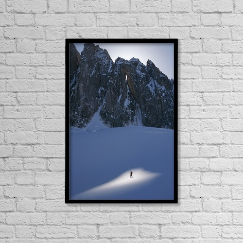 """Printscapes Wall Art: 12"""" x 18"""" Canvas Print With Black Frame - Scenic by Chris Flowers"""