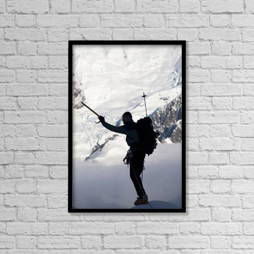 """Printscapes Wall Art: 12"""" x 18"""" Canvas Print With Black Frame - Scenic by Joe Stock"""