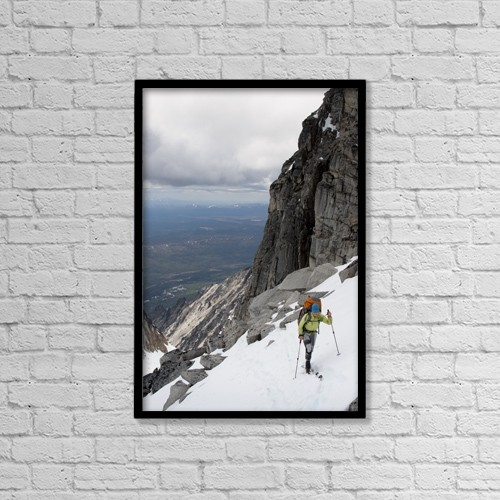 "Printscapes Wall Art: 12"" x 18"" Canvas Print With Black Frame - Scenic by Joe Stock"