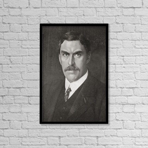 "Printscapes Wall Art: 12"" x 18"" Canvas Print With Black Frame - Charles Silvester Horne, 1865 by Ken Welsh"