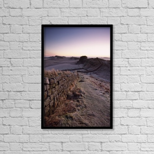 "Printscapes Wall Art: 12"" x 18"" Canvas Print With Black Frame - Scenic by Ian Cumming"