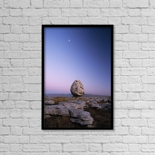 """Printscapes Wall Art: 12"""" x 18"""" Canvas Print With Black Frame - Scenic by Ian Cumming"""