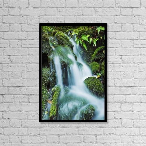 "Printscapes Wall Art: 12"" x 18"" Canvas Print With Black Frame - Travel by MakenaStockMedia"