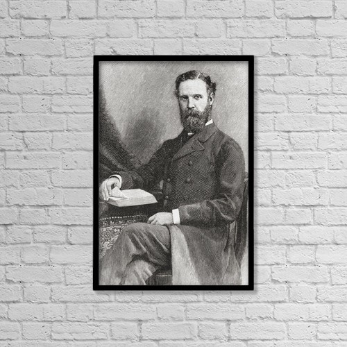 "Printscapes Wall Art: 12"" x 18"" Canvas Print With Black Frame - Edward Carr Glyn, 1843-1928 by Ken Welsh"