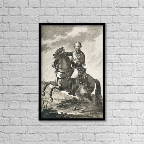 """Printscapes Wall Art: 12"""" x 18"""" Canvas Print With Black Frame - Creative Imagery by Ken Welsh"""